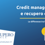 Credit management e recupero crediti