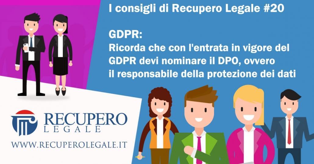 GDPR e nomina del DPO