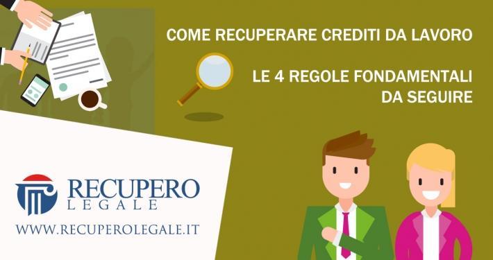 Come recuperare crediti da lavoro