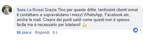 Commento Sara La Rossi