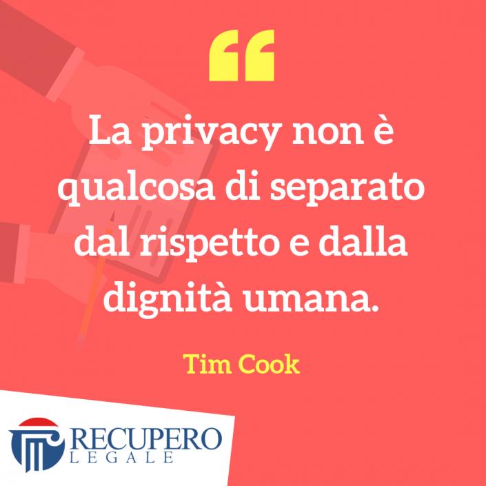 Privacy e rispetto