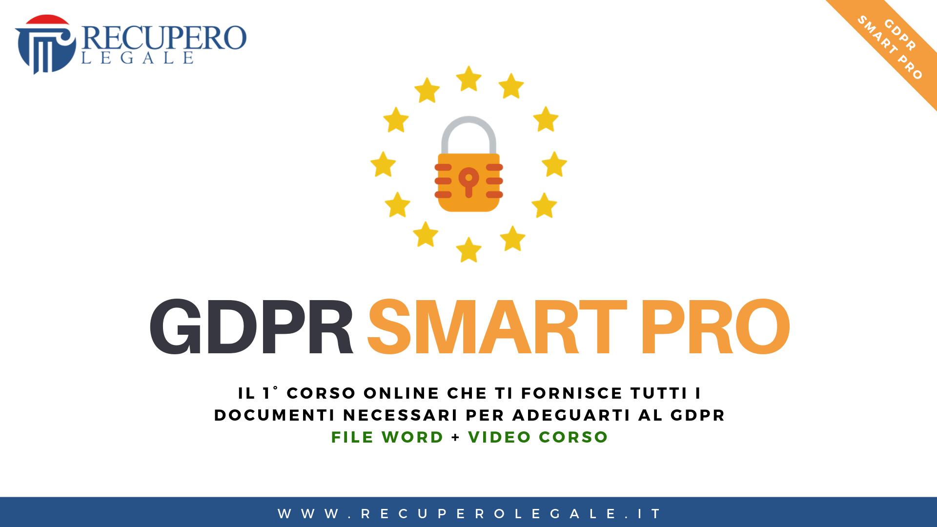 GDPR SMART PRO - Copertina
