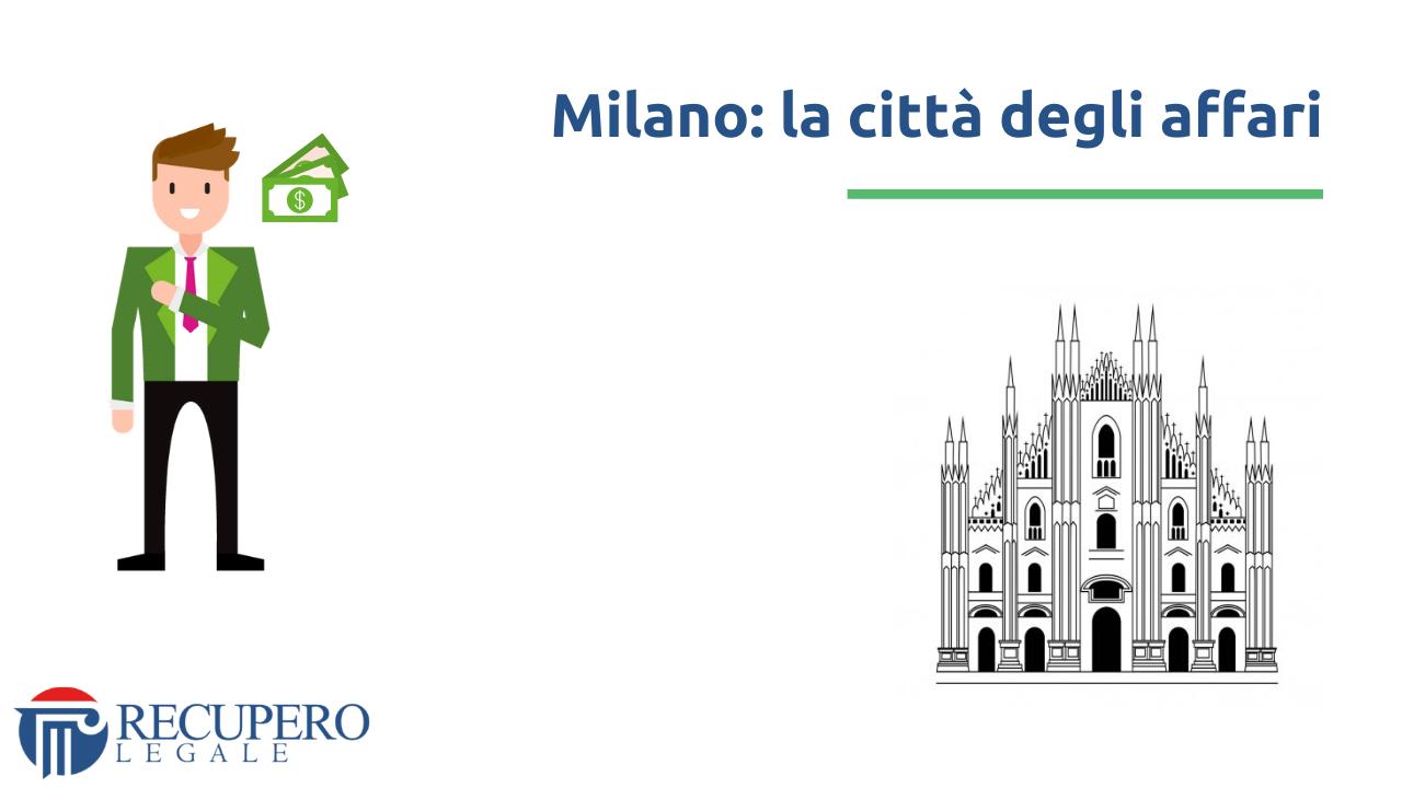Recupero crediti avvocato Milano - citta affari