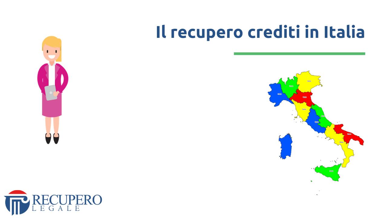 Recupero crediti in Italia