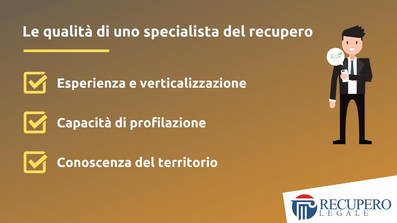 Recupero crediti avvocato Roma - specialista