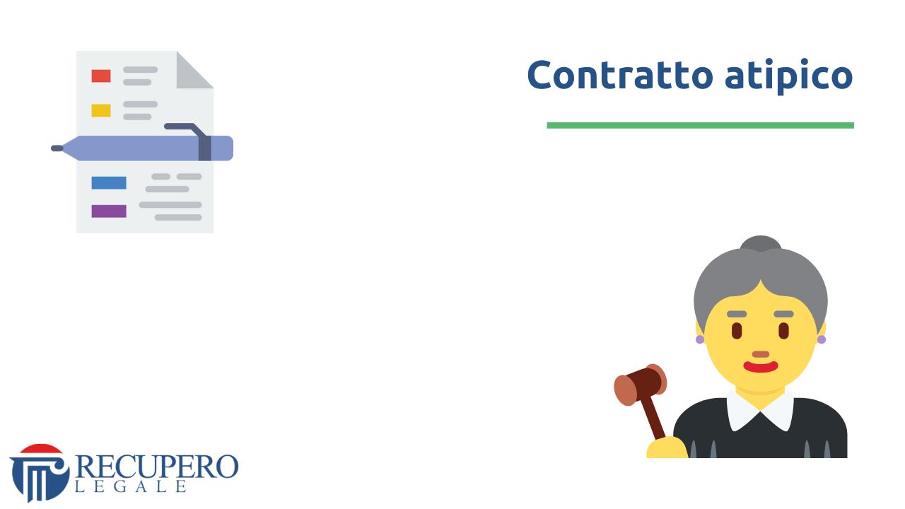 Contratto di servizio - contratto atipico